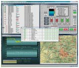 The Workstation provides a graphical interface via various forms of communication link